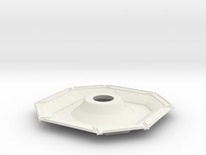 01-Descent Stage Underside in White Natural Versatile Plastic