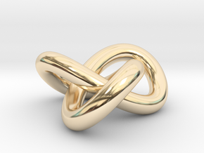 Trinity Knot in 14K Yellow Gold