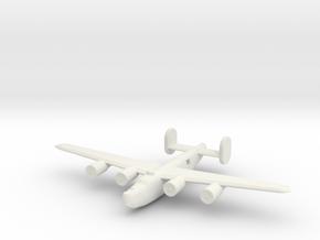 1/400 B24 Liberator in White Natural Versatile Plastic