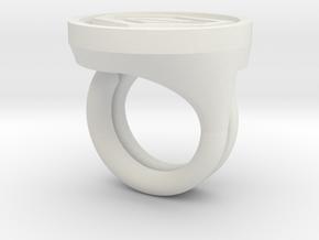 Gatchaman Rings in White Natural Versatile Plastic