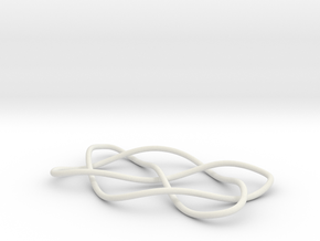 knot 7-4 100mm in White Natural Versatile Plastic