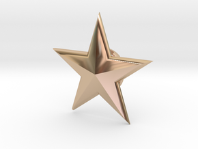 SSMM-STAR-BASICloft 1.25 in 14k Rose Gold