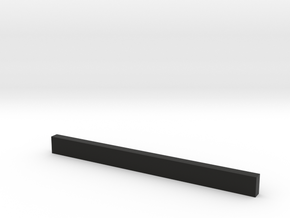 thin bars 2 5mm thickness 5mm width in Black Strong & Flexible
