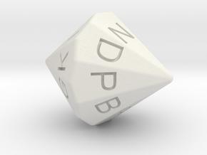 MM D18 in White Natural Versatile Plastic