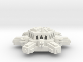BFG Orbital Defense Battery Platform in White Natural Versatile Plastic