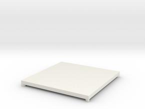 ITEM K A in White Natural Versatile Plastic