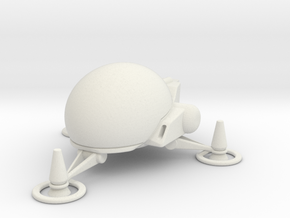 TA05 Assault Pod in White Natural Versatile Plastic