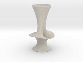 "Costa Vase - 7"" in Natural Sandstone"