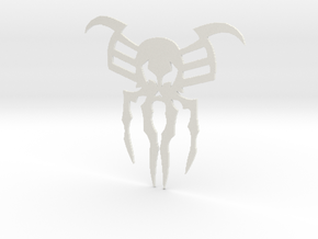 2099 Spider Symbol in White Natural Versatile Plastic