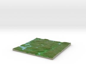 Terrafab generated model Thu Feb 20 2014 23:35:40  in Full Color Sandstone