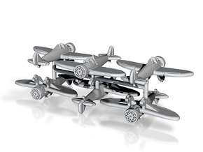 1/300 Boeing P-26A Peashooter (x6) in Smooth Fine Detail Plastic