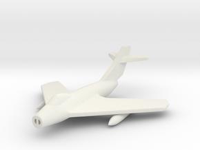 1/285 (6mm) Mig-17F in White Natural Versatile Plastic