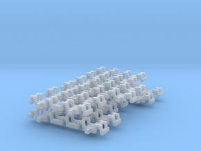 3xneue Achslager Halter Für Torpedppfanne in Smooth Fine Detail Plastic