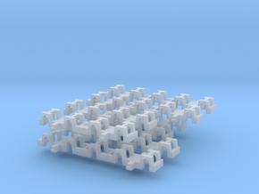2xneue Achslager Halter Für Torpedppfanne in Smooth Fine Detail Plastic