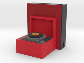 Record Player Iphone Speaker  in Full Color Sandstone