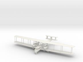 1/144th Zeppelin-Staaken R.VI in White Natural Versatile Plastic