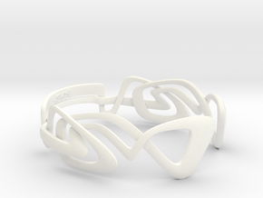 KULESUS Bracelet  in White Strong & Flexible Polished