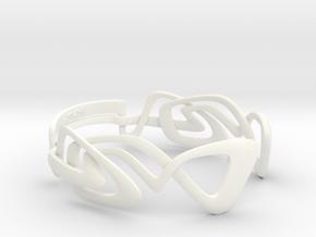 KULESUS Bracelet  in White Strong & Flexible Polished