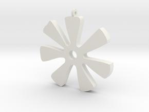 ANANSE NTONTAN in White Natural Versatile Plastic