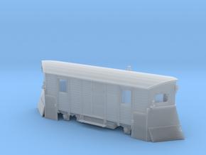 Schmalspur-Schneepflug Spur TTm (1:120) in Smooth Fine Detail Plastic