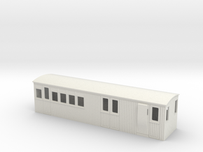 009 colonial 3rd brake coach in White Strong & Flexible