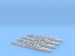 Admiralty S Class DD (Std) (1/2400) x4 in Smooth Fine Detail Plastic