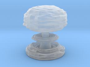 Mushroom Cloud in Smooth Fine Detail Plastic