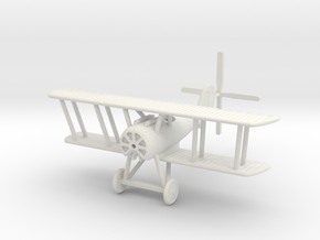 1/144 Pfalz D.VIII in White Natural Versatile Plastic