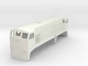 EMD JL8 1:48 Scale in White Natural Versatile Plastic