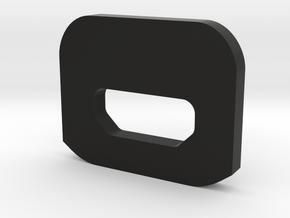 WAX9 Enclosure Lid in Black Natural Versatile Plastic