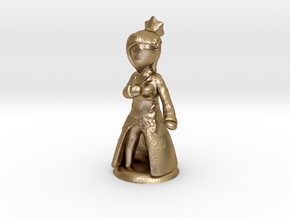 FantasyMinions S1 - FF XIV Minfilia in Polished Gold Steel