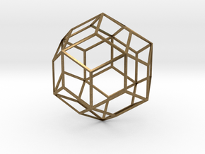 Rhombic Triacontahedron in Natural Bronze