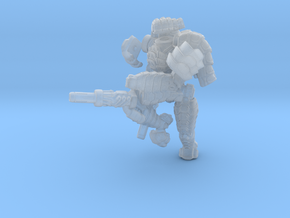 Mech suit with twin weapons.(8) in Frosted Ultra Detail