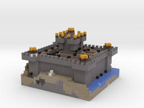 Jon's Castle in Full Color Sandstone