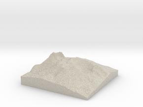 Model of Lemei Rock in Sandstone