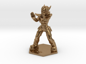 1:72 Helja, Dwarven Dracomancer,  in Natural Brass