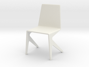 1:24 mosqitchair1 in White Strong & Flexible
