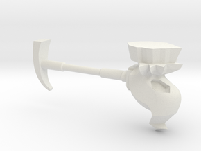 Skull Hammer in White Natural Versatile Plastic