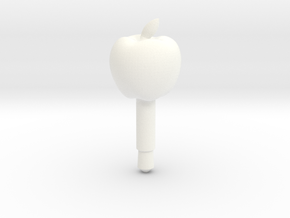 Apple Headphone Jack Accessory in White Strong & Flexible Polished