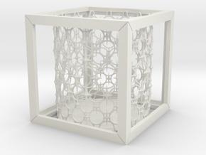 Starcube in White Natural Versatile Plastic