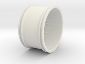 Superleggera V2 in White Natural Versatile Plastic