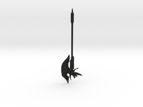 Bardiche Assault in Black Natural Versatile Plastic