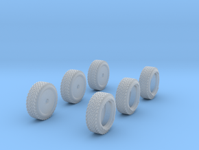 1-87 Ford Raptor Tire in Smooth Fine Detail Plastic