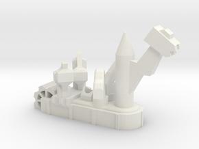 Fantasy Fleet Crusher in White Strong & Flexible