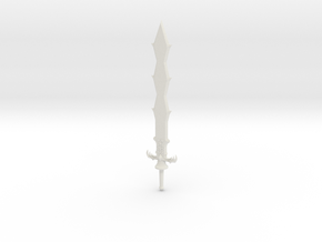 Sword of Demise - Legend of Zelda: Skyward Sword in White Natural Versatile Plastic