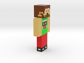6cm | Minecraft_Champ6 in Full Color Sandstone