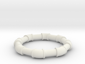 1 5 ell 45 in White Natural Versatile Plastic