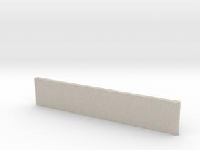 Sluice Wall in Natural Sandstone