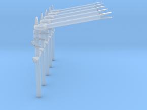 Werfer FLB stl in Smooth Fine Detail Plastic