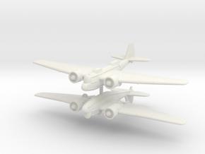 1/300 Martin B-10 (x2) in White Natural Versatile Plastic